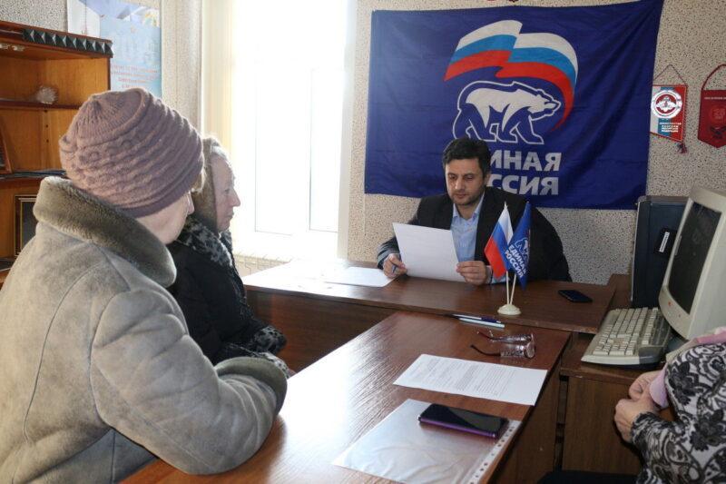 Юрий Тимошенко провел  личный  прием граждан