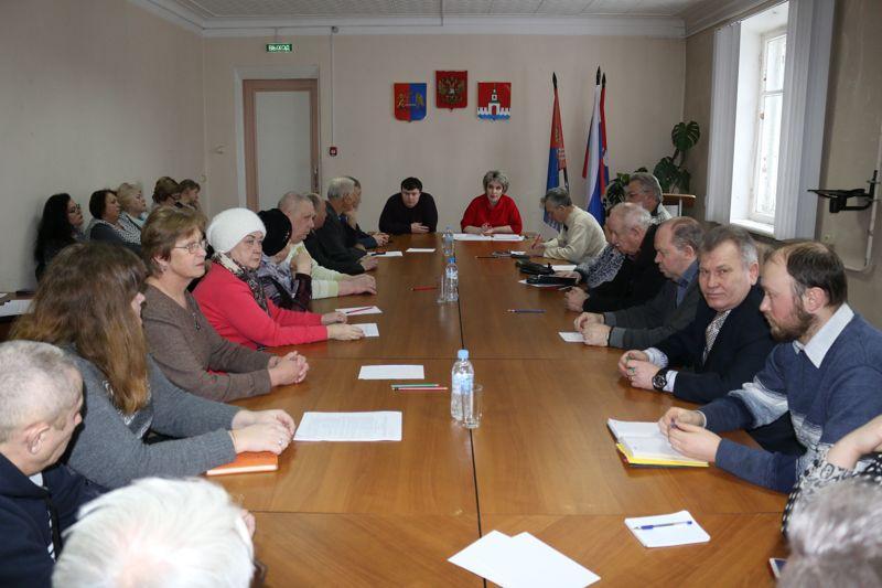 Создание ТОС - главный вопрос на заседании первого Общественного совета