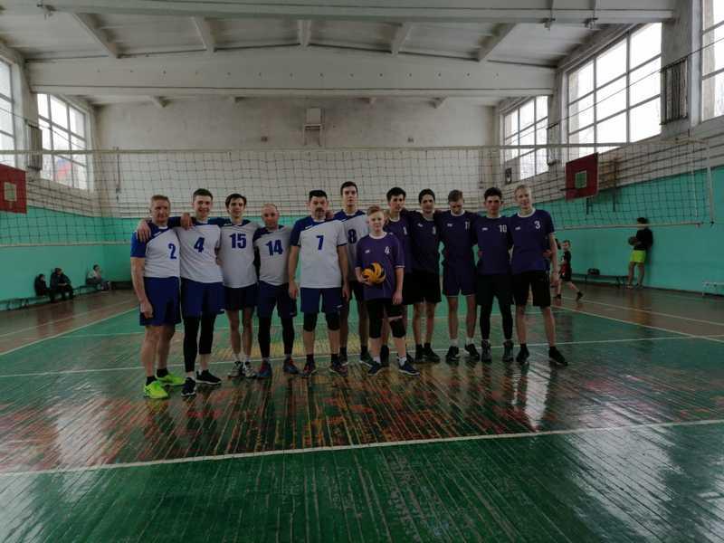 Наши волейболисты одержали победу в Пучеже