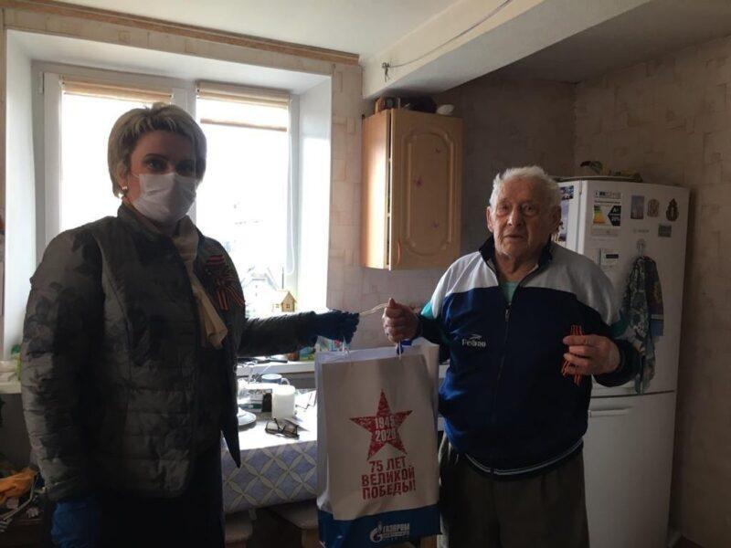 Депутат областной Думы Сергей Мазалов поздравил юрьевецких ветеранов с 75-летием Великой Победы