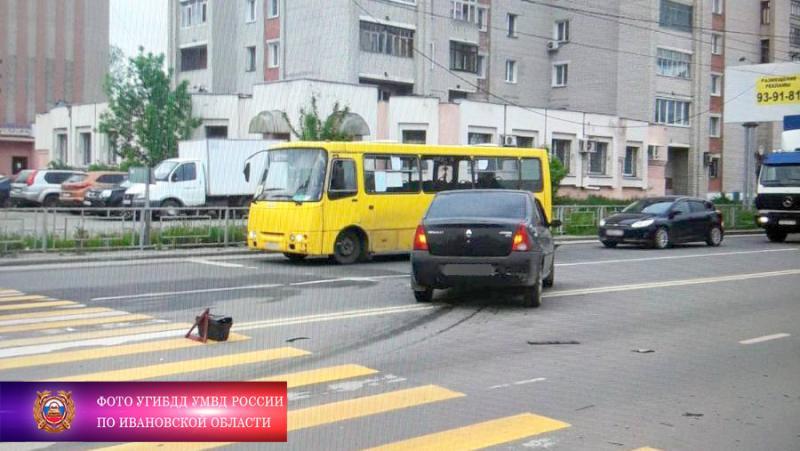 17-летний водитель без прав спровоцировал ДТП в Иванове