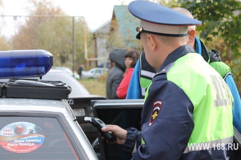 За неделю кинешемские автоинспекторы задержали 11 пьяных водителей
