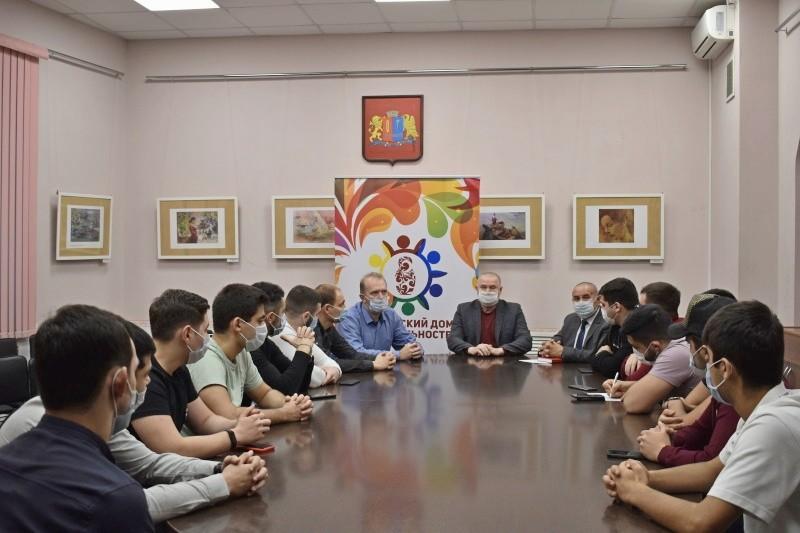 В Ивановском дом национальностей прошла встреча азербайджанской молодежи
